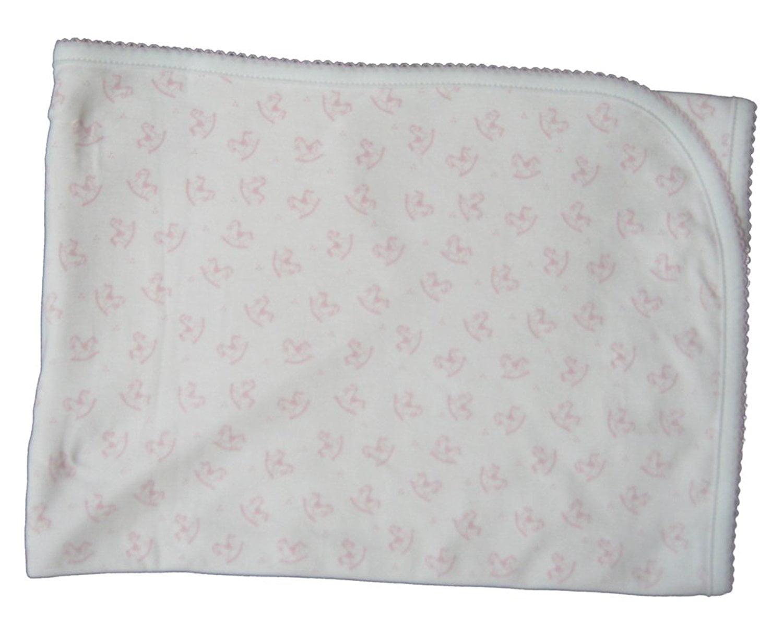 Kissy Kissy Baby-Girls Infant Sweet Rockers Print Receiving Blanket by Kissy Kissy