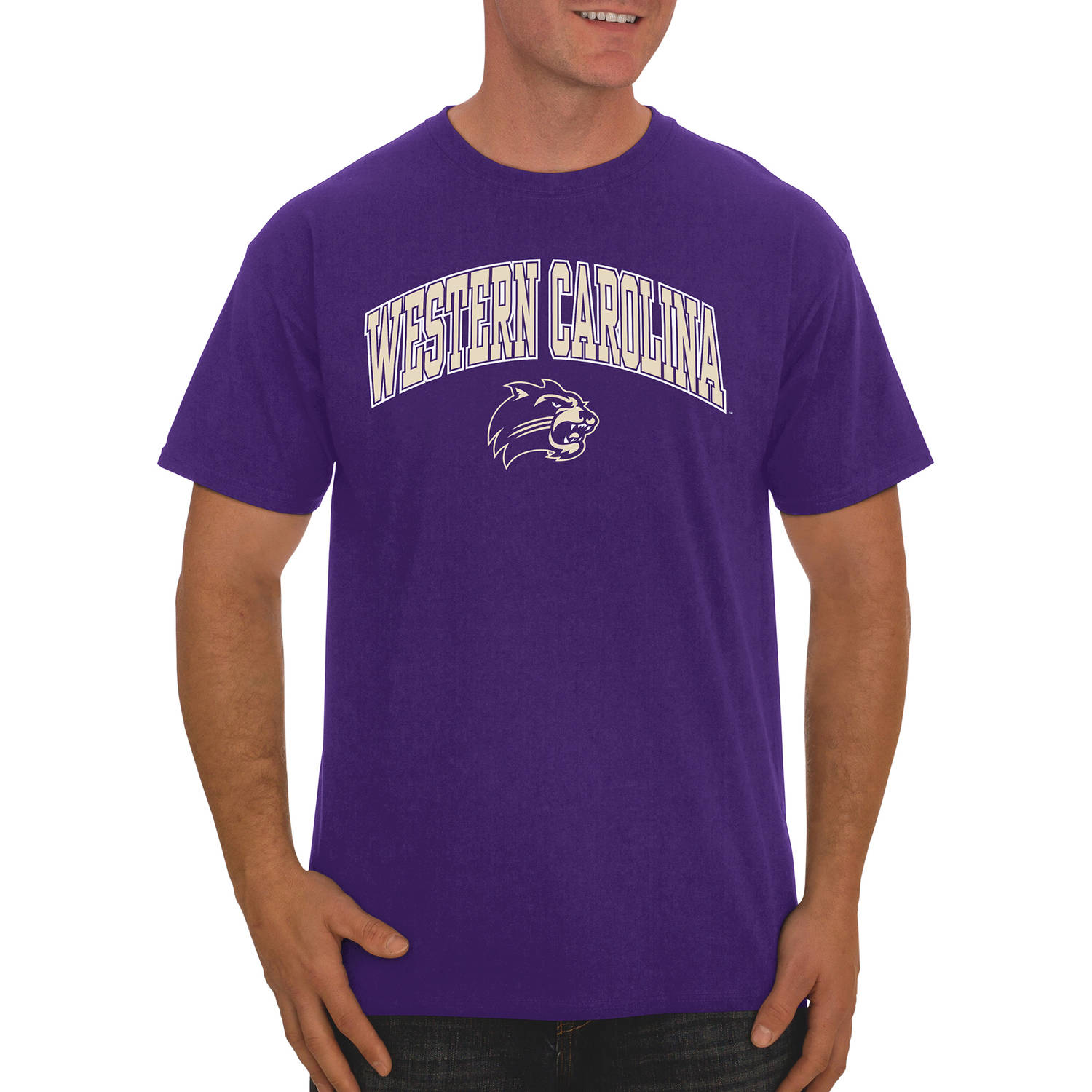 NCAA Western Carolina Catamounts Men's Classic Cotton T-Shirt