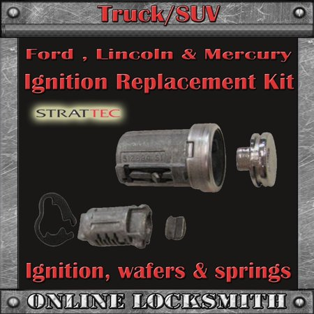 Replacement Ignition Switch Cylinder Kit For Lincoln Aviator 2003-2005 By  Ri-Key