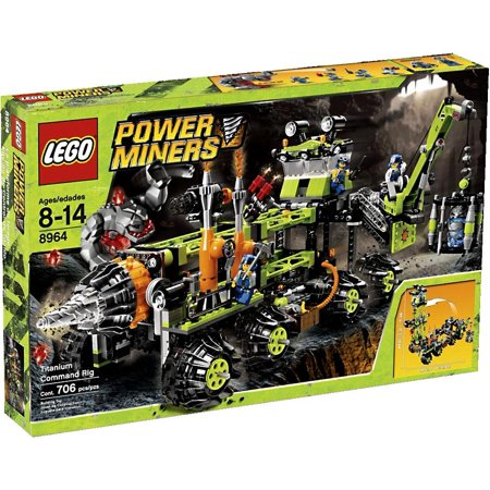 Lego Power Miners Titanium Command Rig Set  8964
