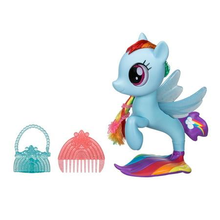 My Little Pony: The Movie Glitter & Style Seapony Rainbow Dash - Rainbow Dash Light