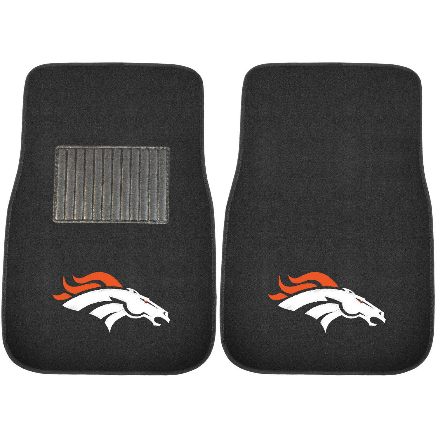 NFL Denver Broncos Embroidered Car Mats