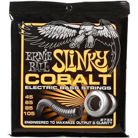 Ernie Ball EB2733 Cobalt Slinky Bass Guitar Strings 45-105