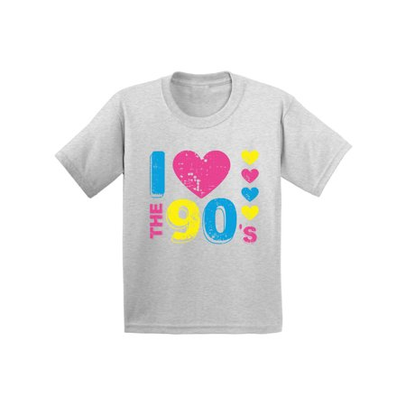 Awkward Styles I Love the 90's Youth Shirt 90s Accessories 90s Costumes for Kids I Love the 90s Disco T shirt for Boys Disco T shirt for Girls Love for