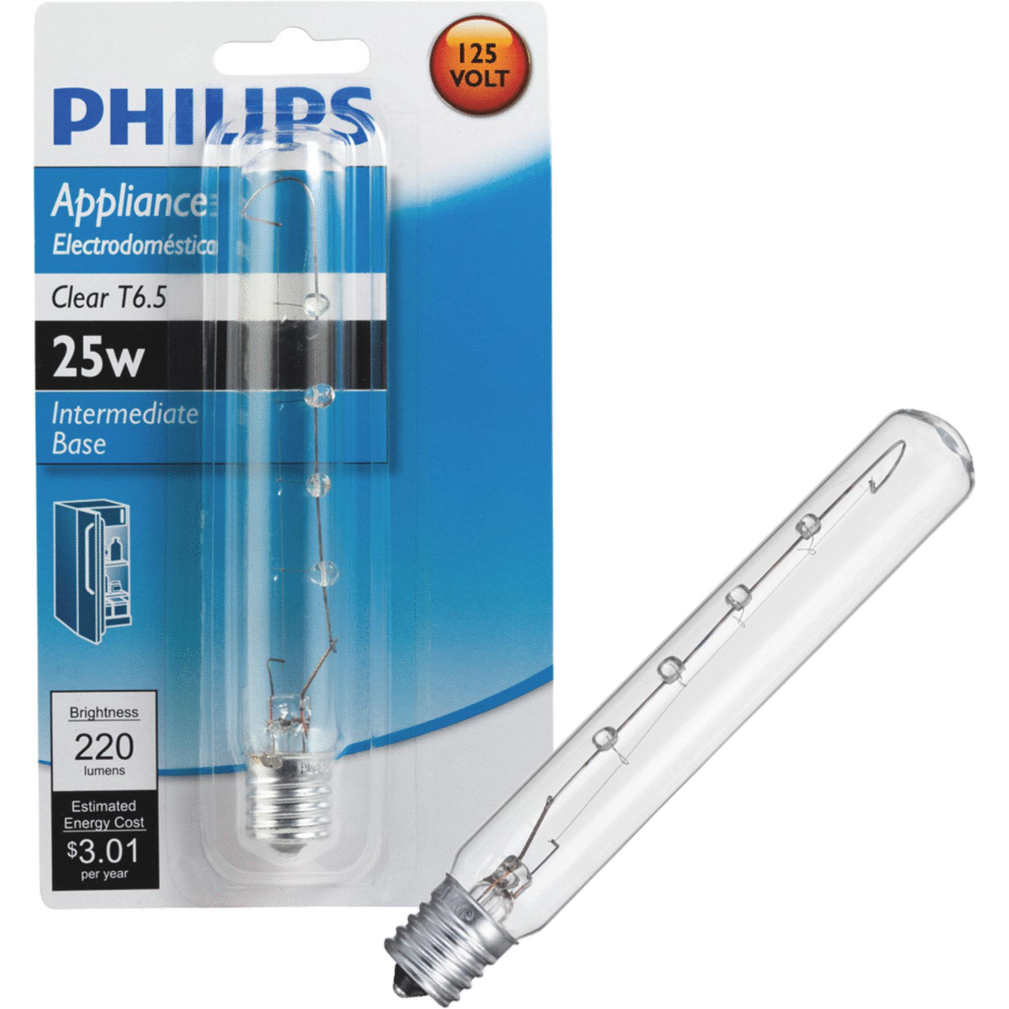 Philips T6.5 Incandescent Appliance Light Bulb