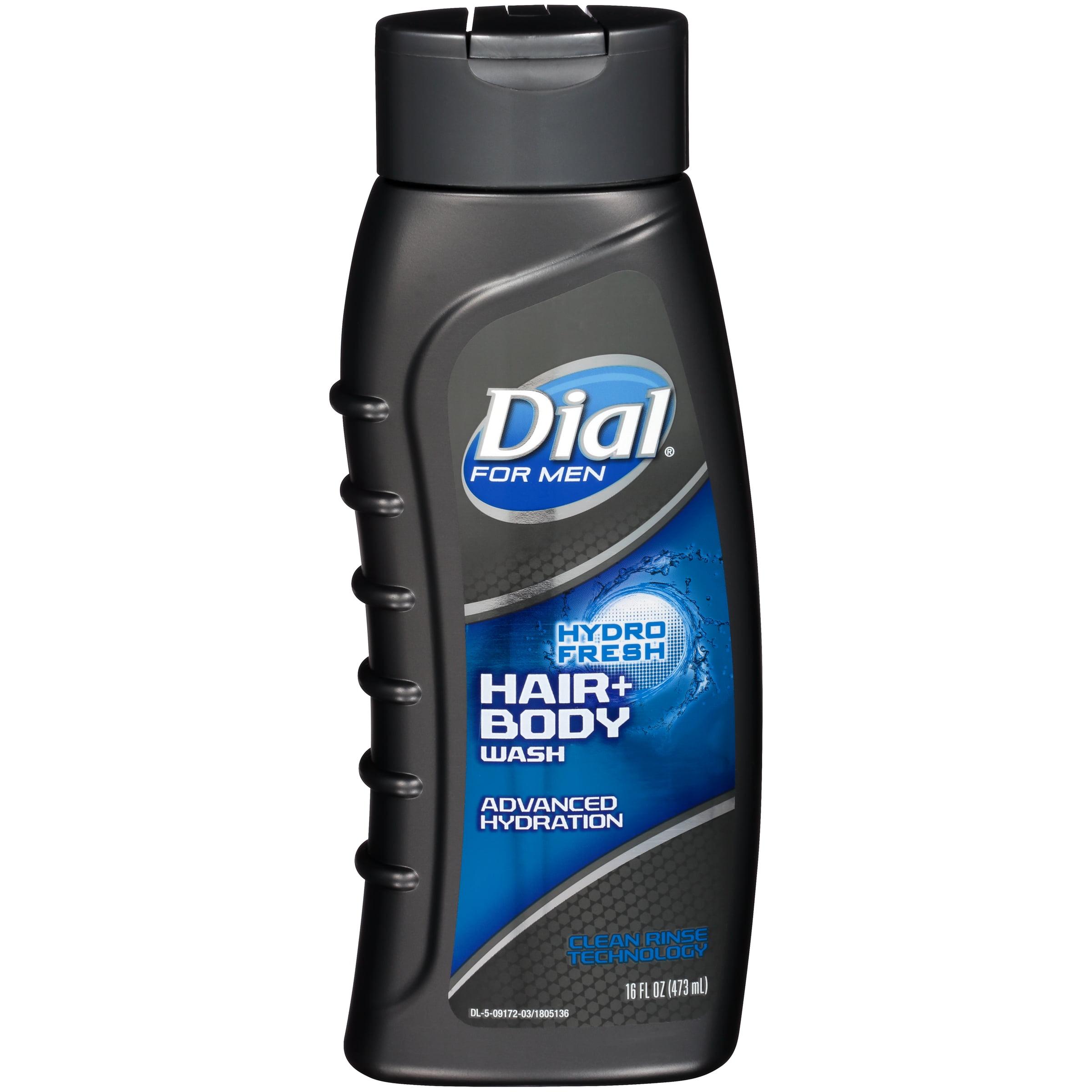 Dial for Men Hair & Body Wash, HydroFresh, 16 Ounce