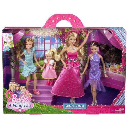 Barbie Sisters Gala Gown Giftset Walmart Com