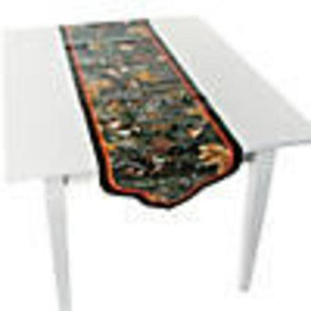 Camouflage Wedding Table Runner - Camo Wedding Ideas Themes
