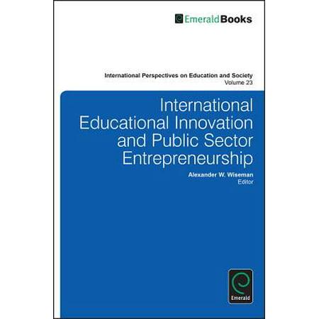 International Educational Innovation and Public Sector Entrepreneurship -  eBook