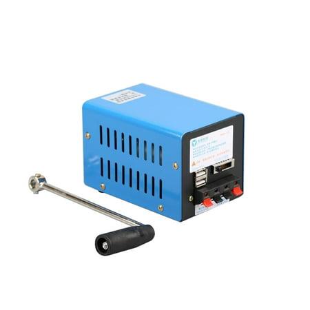 Outdoor 20W Multi-function Portable Manual Crank Generator Emergency Survival Power (Guardian Generator Manual)