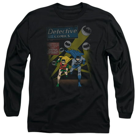 Batman/Dynamic Duo Mens Long Sleeve Shirt
