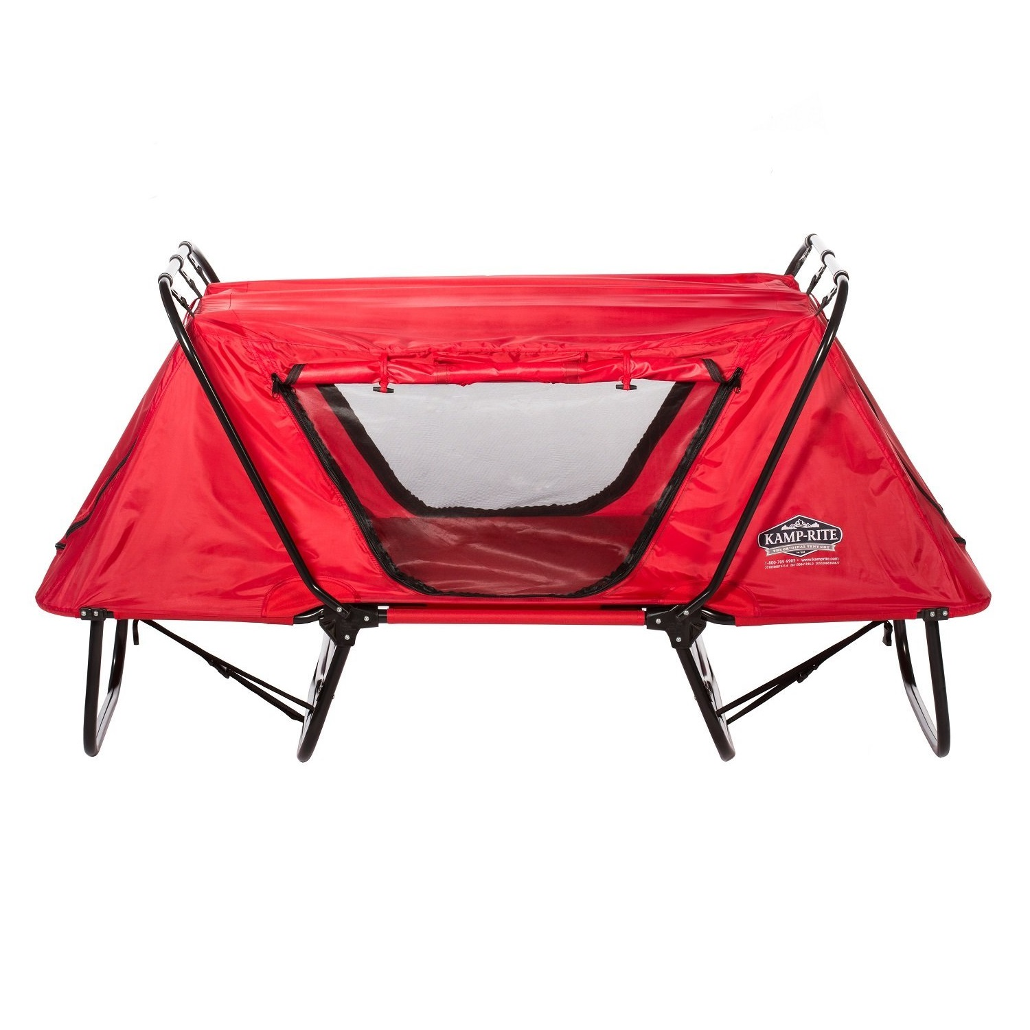 Kamp-Rite Kid Cot with Rain Fly Red by Kamp-Rite