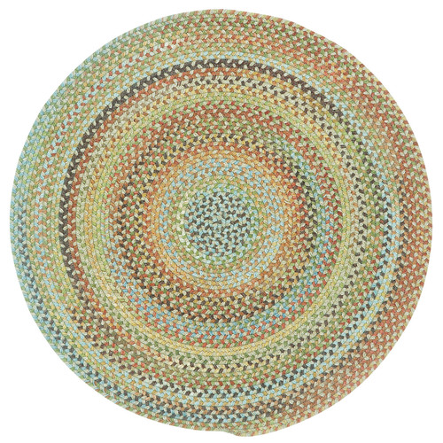 Capel Kill Devil Hill 0210 Braided Rug - Dusty Multi