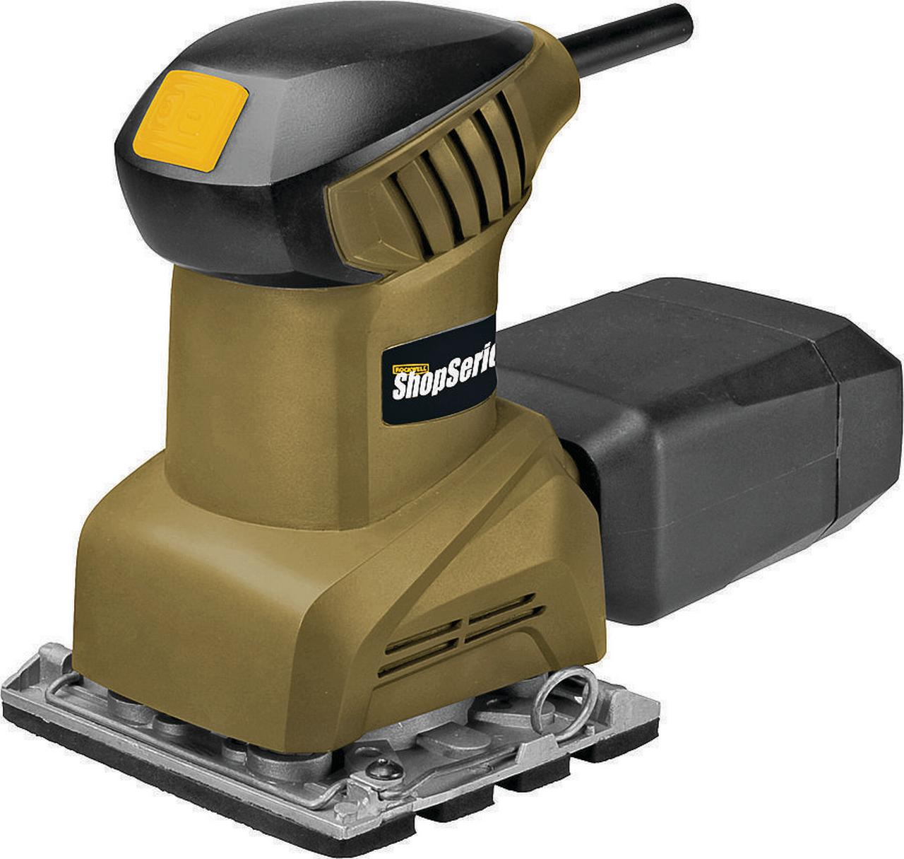 "Rockwell ShopSeries 2 Amp 1 4"" SHeet Palm Sander by Positec Technology"
