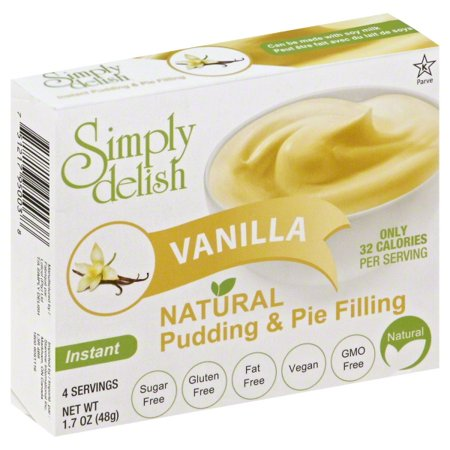 - Stanmar International Simply Delish  Pudding & Pie Filling, 1.7 oz