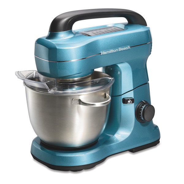 Hamilton Beach 7-Speed Stand Mixer, Silver (63392)