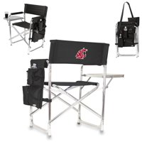 Washington State Cougars Sports Chair - Black