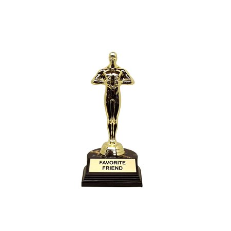 Aahs Engraving Favorite Friend Novelty Trophy, 7 X 3.25 inches