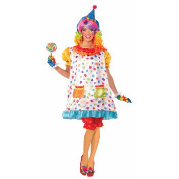 CO-WIGGLES THE CLOWN-XL - Clown Costume Accessories Adults