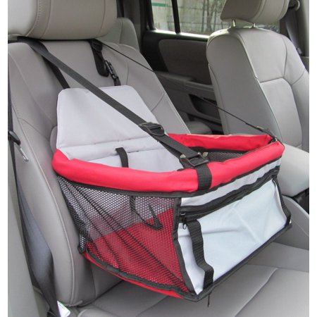 Pawhut Deluxe Dog Booster Seat For Cars