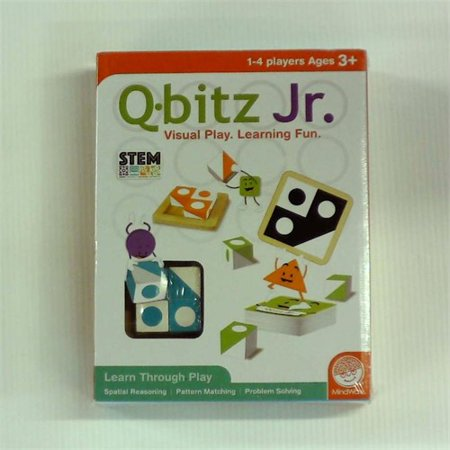 MindWare Q-bitz Jr. Game](Q Bitz)