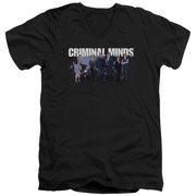 Criminal Minds Season 10 Cast Mens V-Neck Shirt