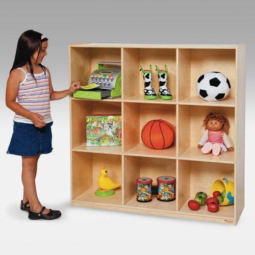Wood Designs 9 Cubby Deep Storage