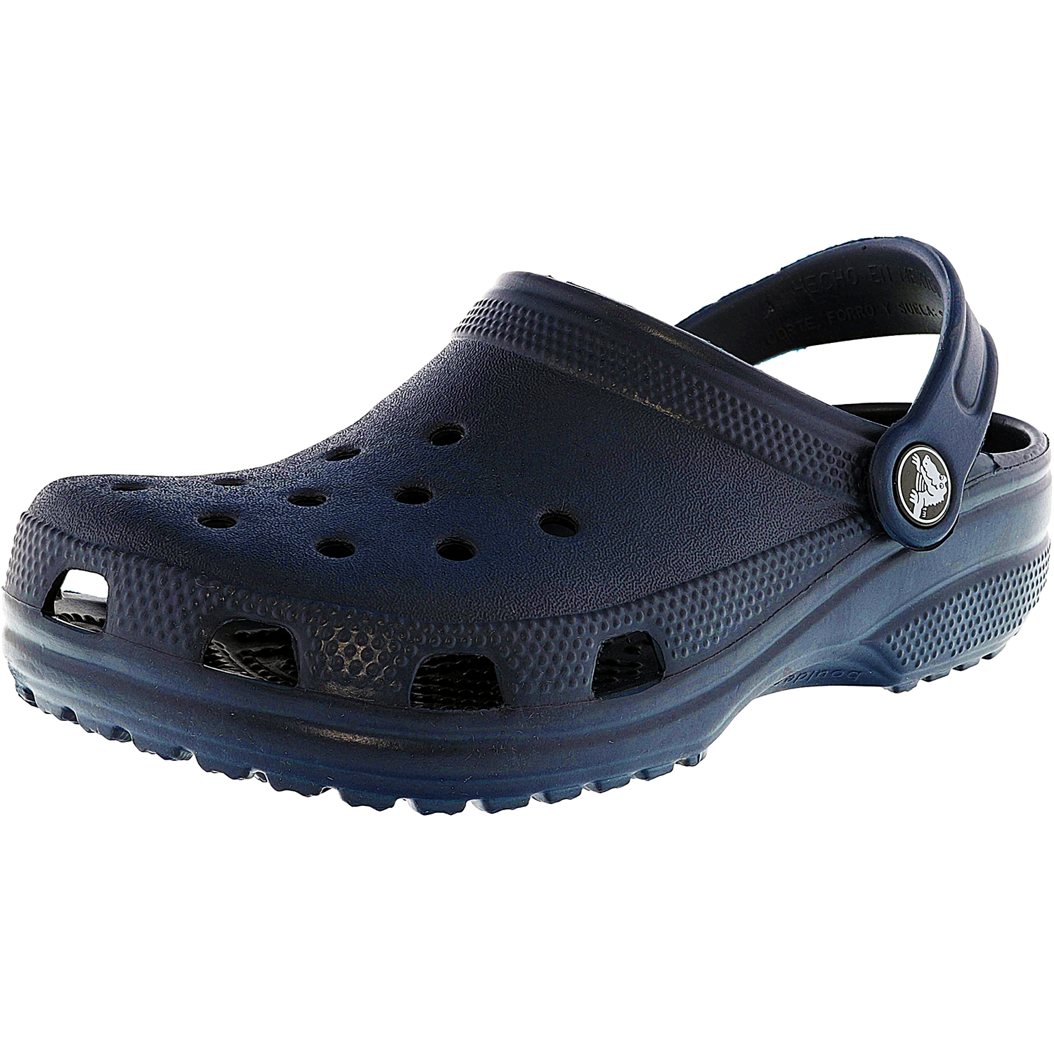 Crocs Classic Clog Navy Flat Shoe 3M by Crocs