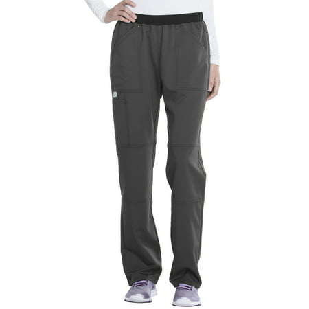 - Premium Collection Women's Stretch Rayon Scub Pant with Mesh Waistband