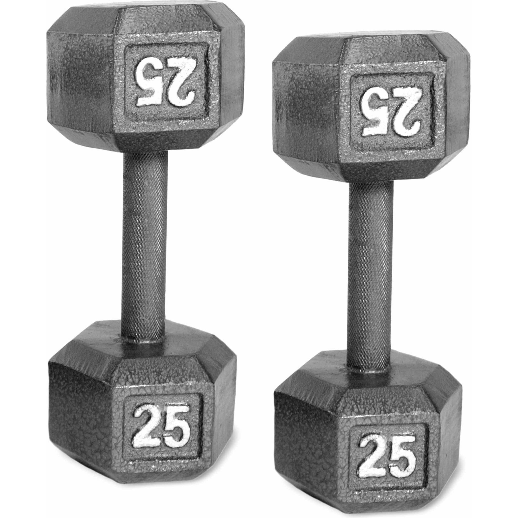 CAP Barbell Cast Iron Dumbbell, Pair