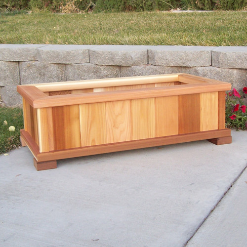 Wood Country Cedar Planter Box by Wood Country