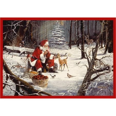 Milliken RJ McDonald Christmas Party Area Rug