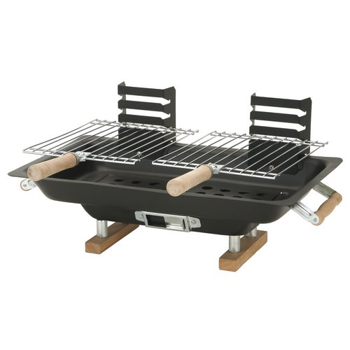Kay Home Products 30002 10 x 17 inch Steel Hibachi Grill