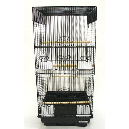 YML Tall Square 4 Perch Bird Cage