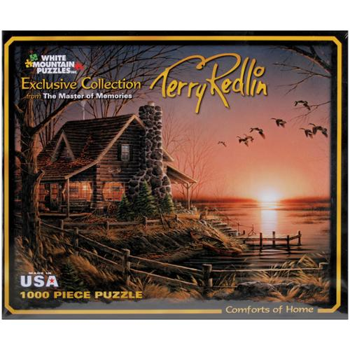 "Terry Redlin Collection Jigsaw Puzzle 1000 Pieces 24""X30""-Comforts Of Home"