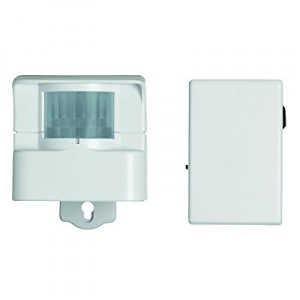 Xodus Innovations HS3605 Carlon Thomas and Betts Motion Activated Light Controller with Keychain Remote, White