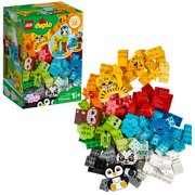 LEGO DUPLO Classic Creative Animals 10934 Developmental Learning Toy with Cute Animals for Toddlers 18 Months and up (175 Pieces)