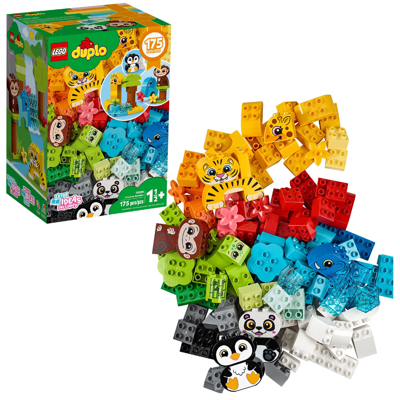 LEGO DUPLO GREY GRAY SQUIRREL Black Eyes Forest Backyard Animal Pet