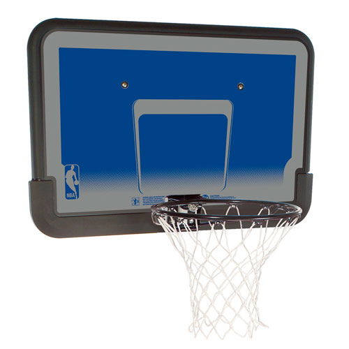 Spalding 80318 NBA Eco-Composite 44 Inch Basketball Backboard & Rim Combo