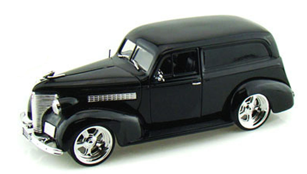 1939 Chevy Sedan Delivery, Black Jada Toys Bigtime Kustoms 96366 1 24 scale Diecast Model... by Jada
