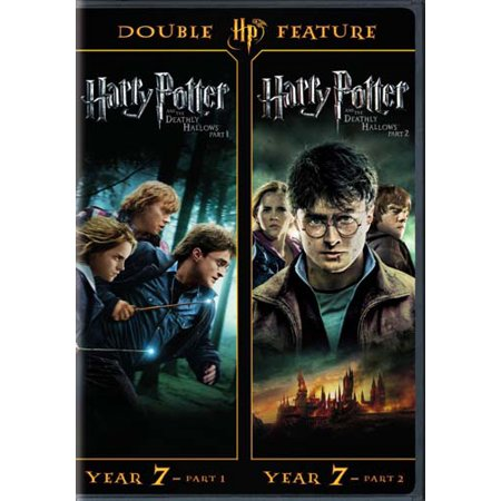 Harry Potter And The Deathly Hollows Part 1 and 2 (Walmart Exclusive) (DVD + Digital (Cast Of Harry Potter Deathly Hallows 2)