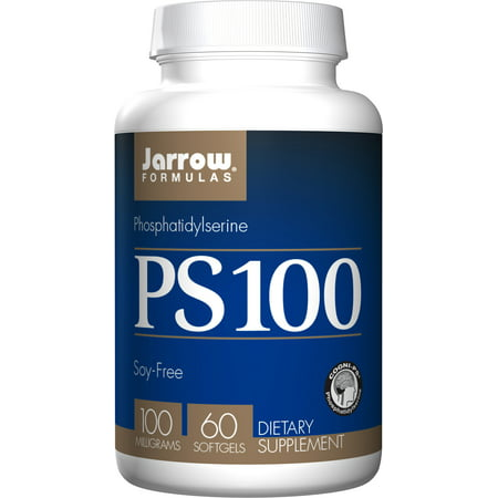 Jarrow Formulas Ps-100, Brain and Memory Support, 100 mg, 60