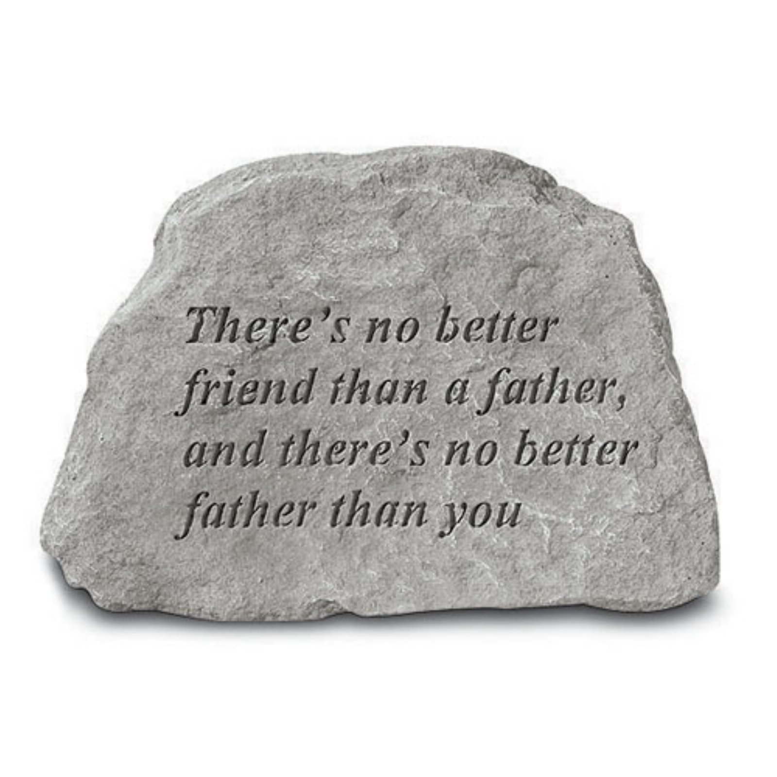 There's No Better Friend Garden Accent Stone by Kay Berry