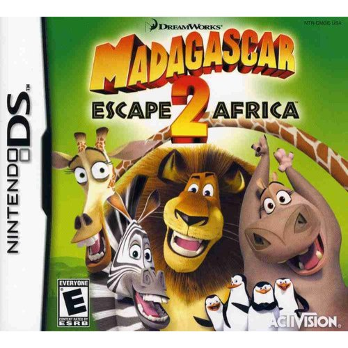 Madagascar Escape 2 Africa (DS)