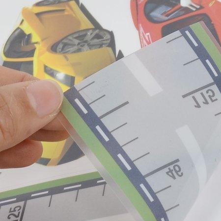 Voiture Course à Maison décor tracé Routier adhésive Autocollant Autocollant Mural 50 x 70cm - image 1 de 4