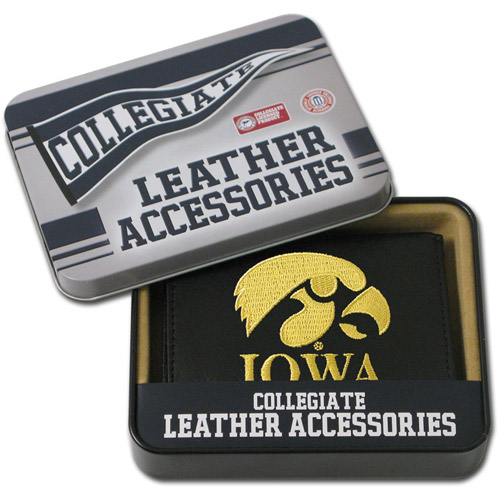 NCAA - Men's Iowa Hawkeyes Embroidered Trifold Wallet