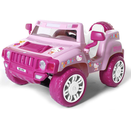 Dynacraft Hello Kitty 12V Battery Powered SUV
