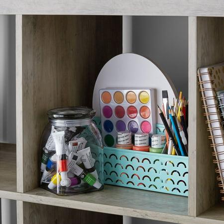 Better Homes & Gardens 16-Cube Storage Organizer, Rustic Gray