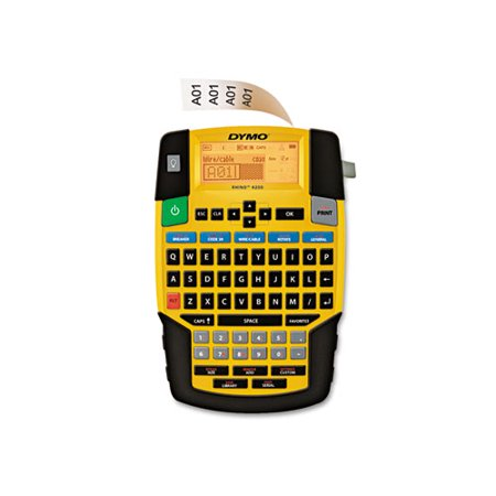 DYMO Rhino 4200 Basic Industrial Handheld Label Maker, 1 Line, 8w x 12d x 2-1/2h