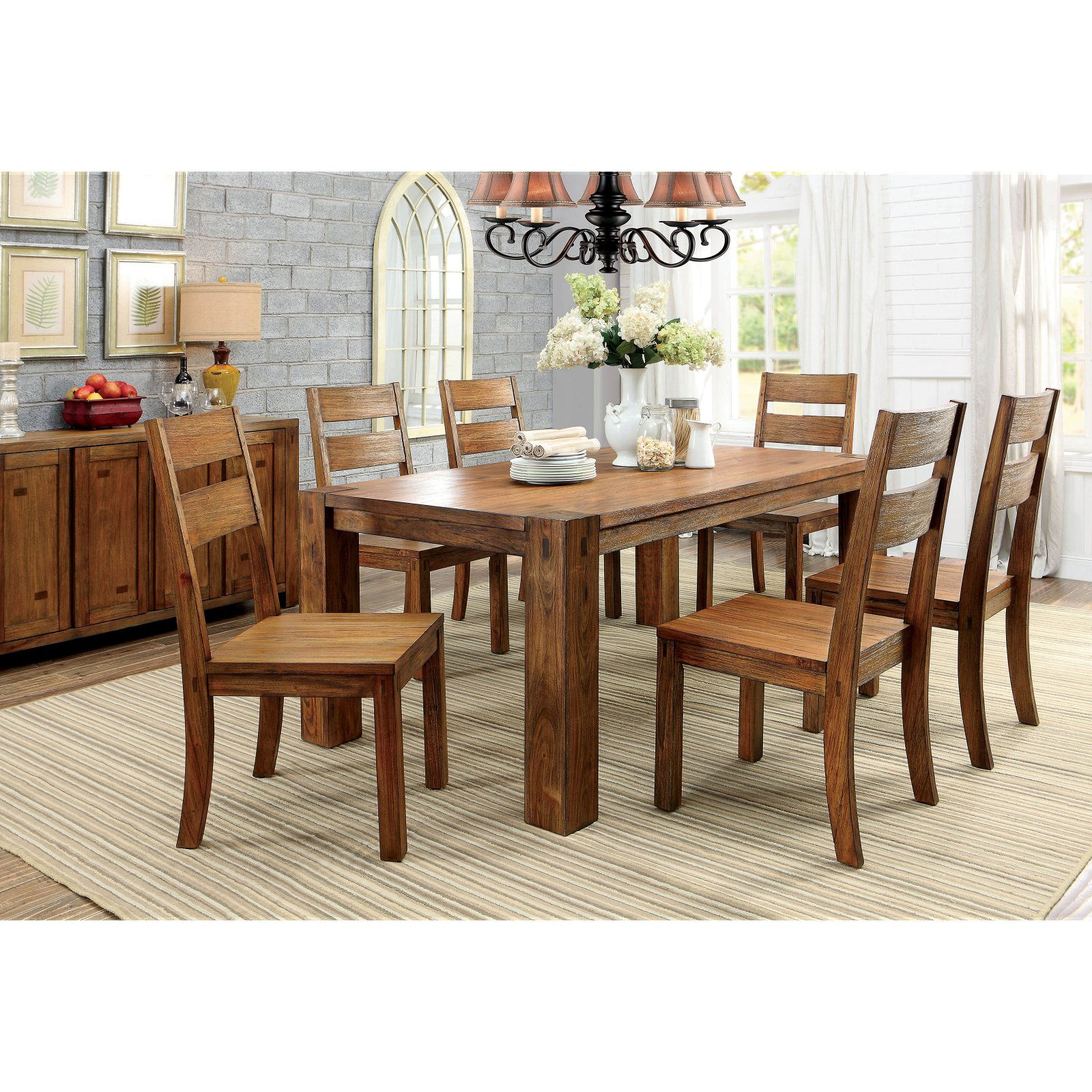 Furniture of America Branson Dining Table
